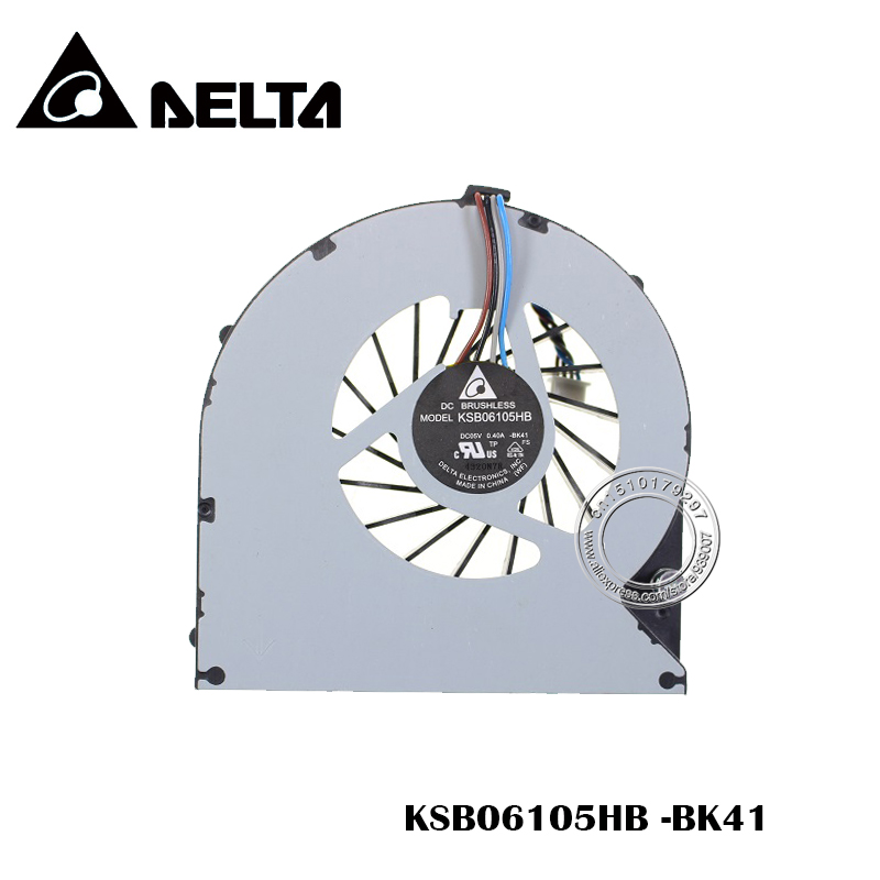 New Laptop Cpu Fan For Toshiba Satellite P870 P875 Cooling Fan P/N: KSB06105HB BK41 Free Shipping