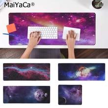 MaiYaCa Boy Gift Pad Purple Star Space Rubber Mouse Durable Desktop Mousepad Free Shipping Large Keyboards Mat