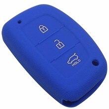 Силиконовые Ключи чехол для Hyundai ix25 i30 HB20 I30 IX35 Mistra Verna Solaris Соната Santafe IX45 Смарт брелок случае