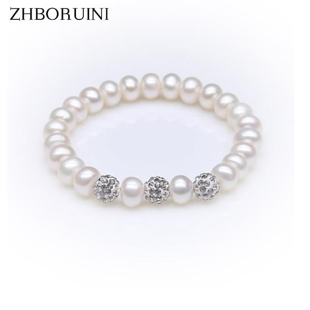 Aliexpress.com : Buy ZHBORUINI Charm Bracelet Pearl ...
