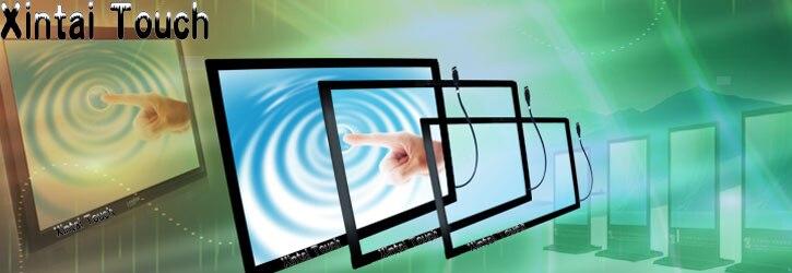 Livraison Gratuite! Xintai tactile 32 pouces USB IR Multi écran tactile superposition; 10 points infrarouge multi écran tactile cadre pour TV LED - 3
