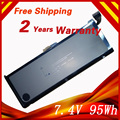 "7.4V 95Wh Laptop Battery For APPLE A1309 For MacBook Pro 17"" MC226CH/A  A1297(2009 Version)"