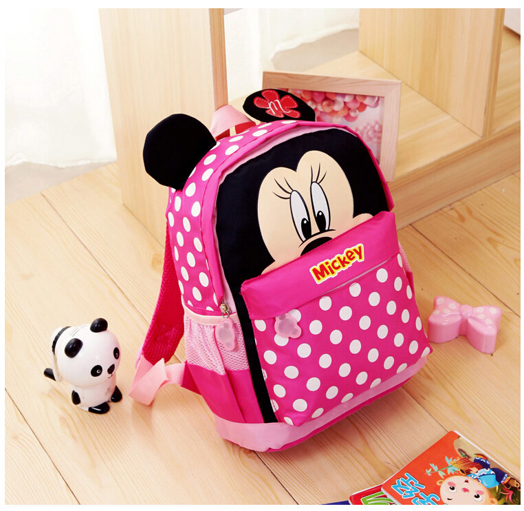 0d6f6117650 kids kindergarten backpack kid school bags Satchel for boys and girls free  shipping 2018 Cartoon Mickey children backpacks-in School Bags from Luggage  ...