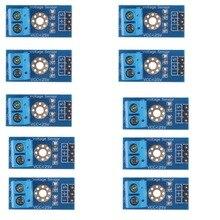 10 stücke Spannung Erkennung Sensor Modul für Arduino DC0 25V mit Code RCmall FZ0430