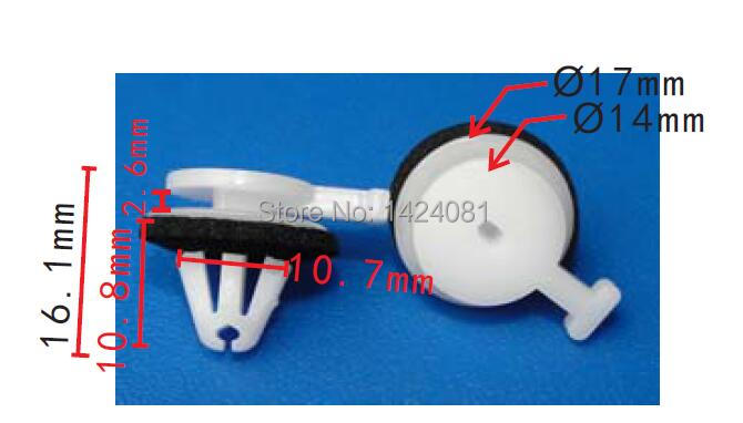 500 x OEM Pillar Retainers With Sealer For Land Rover LR034389 LR053837