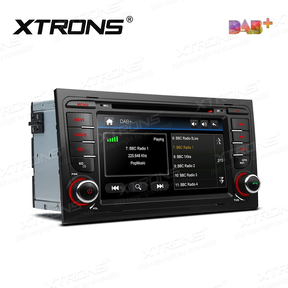 7 dab car radio dvd player gps for audi a4 b6 a4 b7 s4 for Mueble 2 din audi a4 b7