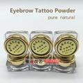 Nueva Tinta Del Tatuaje De Cejas Pigmento En Polvo Especial Para Semi Natural Lentes Eyeline Tatuaje Permanente de Cejas Belleza Maquillaje Arte