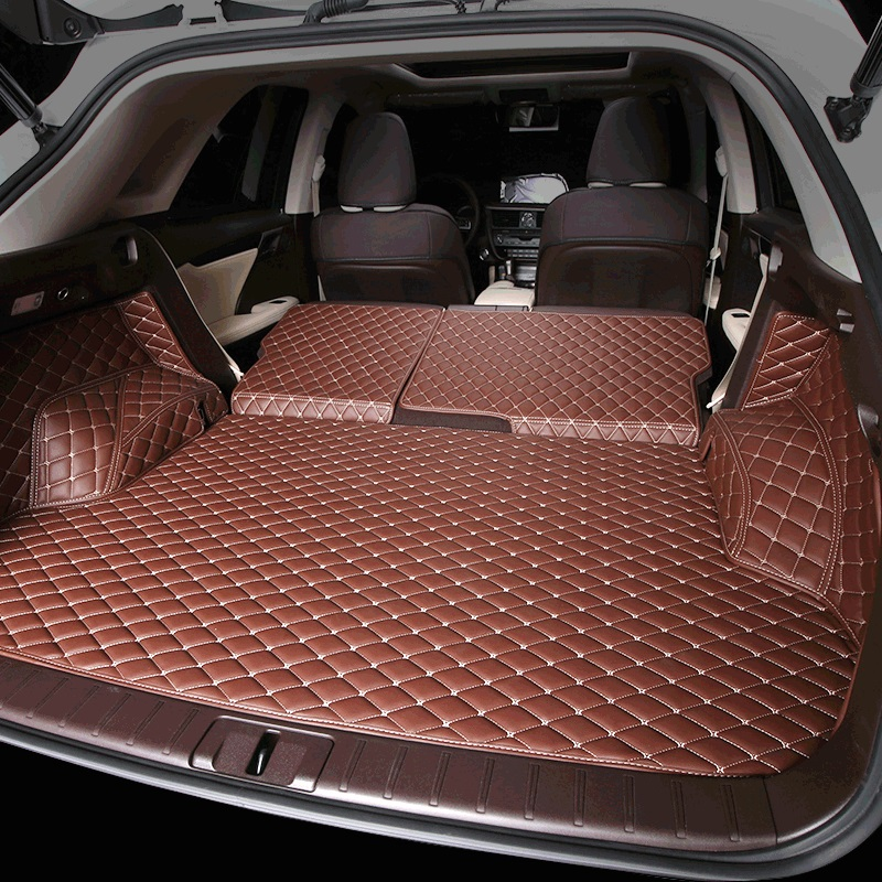 fiber leather car trunk mat for <font><b>lexus</b></font> rx200t <font><b>rx350</b></font> rx450h rx300 2015 2016 2017 <font><b>2018</b></font> 2019 2020 al20 f sport car <font><b>accessories</b></font> image