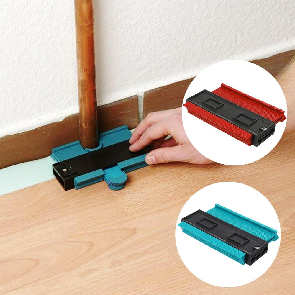General-Tools Scale Template Arc-Ruler Curvature Plastic Gauge Tiling Laminate Irregular