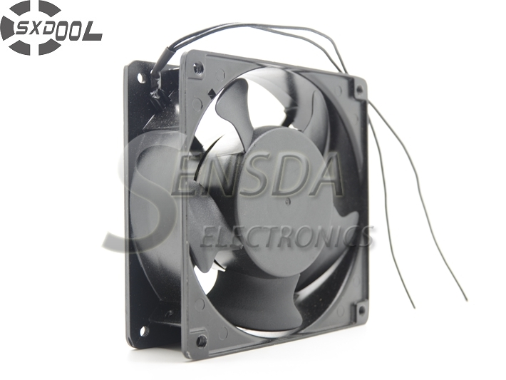 SXDOOL 380V cooling fan 12038 12cm 120mm 0.04A Double ball bearing server inverter pc case cooling fan original delta ffb1224she 12cm 120mm 12038 120 120 38mm 24v 1 20a cooling fan