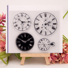 Clocks Of Different Sizes Transparent Clear Silicone Stamps Seals DIY Scrapbooking Photo Album Cards Maker Decorative Sheets