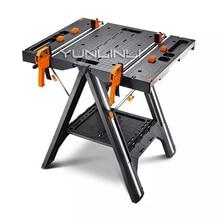 Складные деревообрабатывающие скамейки многофункциональные DIY Рабочий стол портативные аппаратные скамейки с сильной зажимной силой