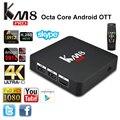 KM8 PRO 4 K UHD Smart TV Box KODI 17 Controle Remoto Android 6.0 Amlogic S912 Cortex-A53 Octa Núcleo até 2.0 GHz RAM 2 GB ROM 16G