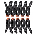 20 Pcs 2 Polegadas stand holder Clip Pano de Fundo do Estúdio da Fotografia Fundo Grampos Pegs Photo Studio equipment