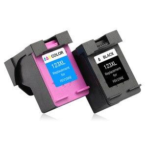 Image 3 - TIANSE 2pk dla HP123 XL w celu uzyskania atrament kartridż do hp DESKJET 1111/1112/2130/2131/2132/3630
