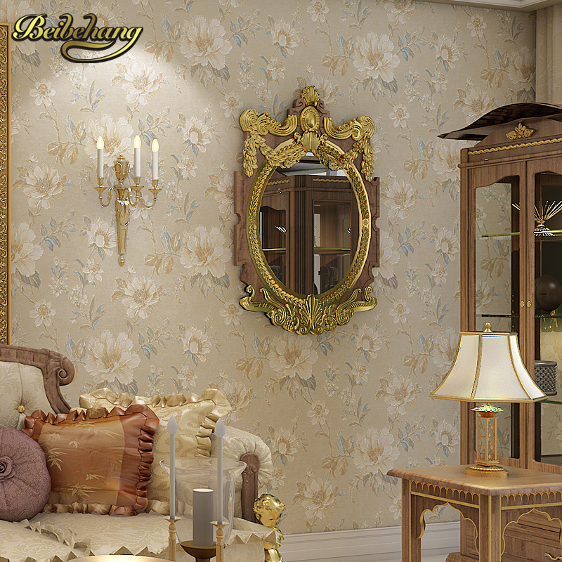 beibehang papel de parede 3d Retro pastoral flowers Wallpaper for living room Bedroom wall papers home decor papel contact roll шапка peak performance peak performance trail hat темно синий one