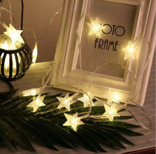 Christmas Led String Garland Lamp Decorations for Home Party Garden Wedding Holiday lighting