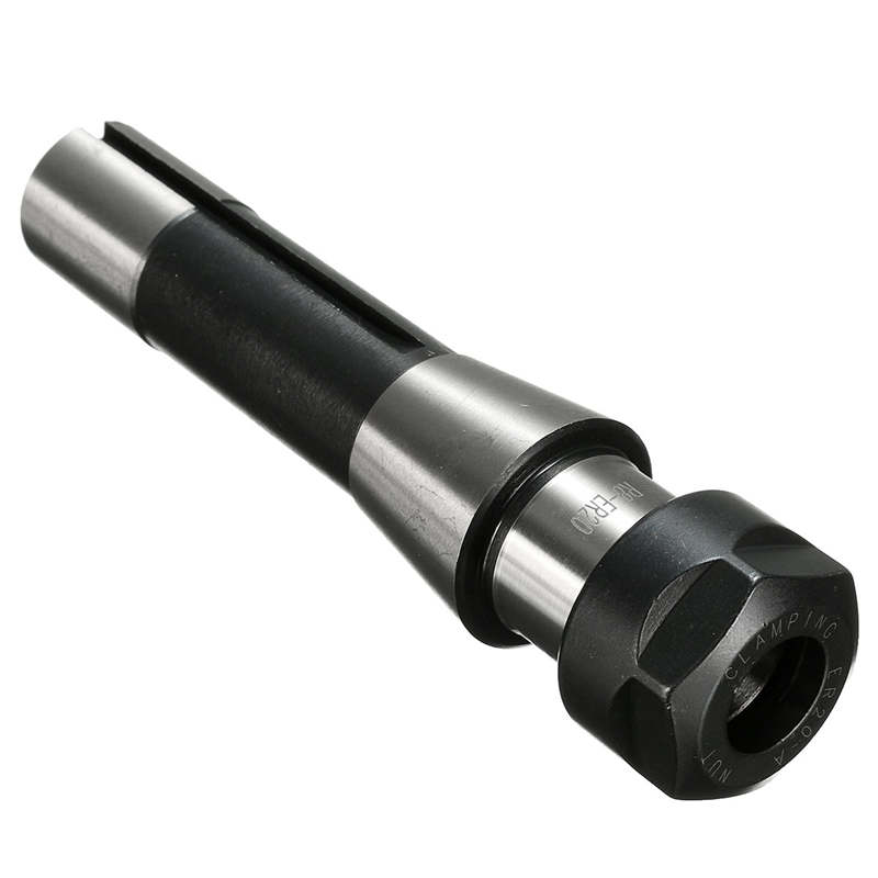 R8 ER20 7/16 Straight Collet Chuck Holder Collet Chuck CNC Milling Lathe R8 Arbor Spindle Holder Tool 143mm x 24mm cnbtr er20 extension rod type a 16mm motor shaft collet chuck holder toolholder cnc lathe milling part