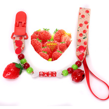 Raise Young 22 Styles Baby Pacifier Clips Infant Silicone Pacifier Chain Newborn Soother Holder Attache Tetine Speenkoord