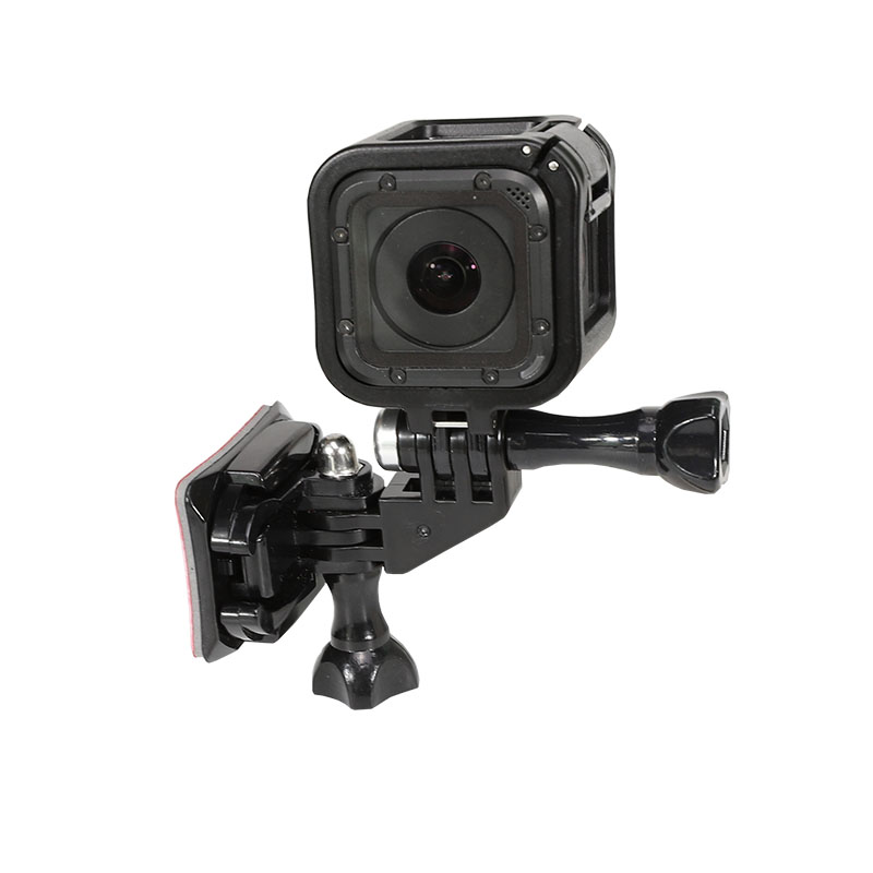 Frame And Helmet Mount Set For GoPro Hero 5 4 Session Auction Camera Helmet Mount Accessories W/ Frame Holder Adapter For Go Pro