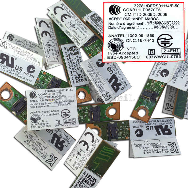 60Y3305 Bluetooth 4 0 Module BCM20702MDLENO for Lenovo ThinkPad T420 X220I  SL400 X60 R60e Z60t W520 X121e Edge E520 X1 T430
