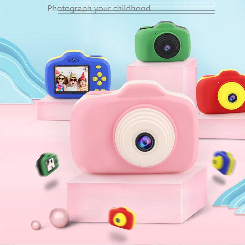 Caméra Toys pour filles garçons de 3-6 ans, appareils photo compacts pour enfants, meilleur cadeau pour garçon fille de 5-10 ans 12MP HD caméra vidéo