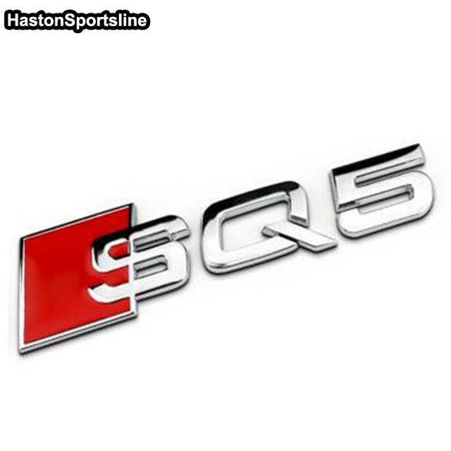 RSQ RSQ SQ SQ Emblem Decal Badge Sticker Badge For Audi Q Qin - Audi emblem
