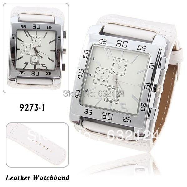 Square Dial Quartz Watch New Unisex Watch Fashion Analog Women Men stylish elegant White Leather Strap Square Dial Quartz Watch New Unisex Watch Fashion Analog Women Men stylish elegant White Leather Strap Watch Hour Relogioes