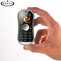 SERVO S08 Спиннер для мобильного телефона 1,3 дюймов две sim-карты GPRS Bluetooth FM радио Ручной Спиннер мобильный телефон с русской клавиатурой