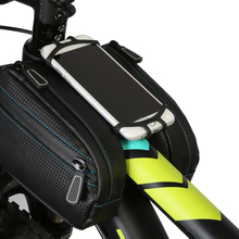 Bicycle Front Top Tube Basket Frame Saddle Bag For MTB Road Bike Package Bag Touchcreen Smart Phone Waterproof Bike Bag