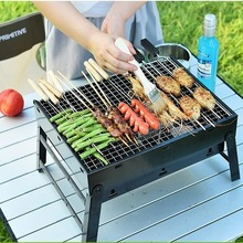 Portable Charcoal BBQ Grill Couple Family Party Outdoor Camping bbq tool Environmental protection Health