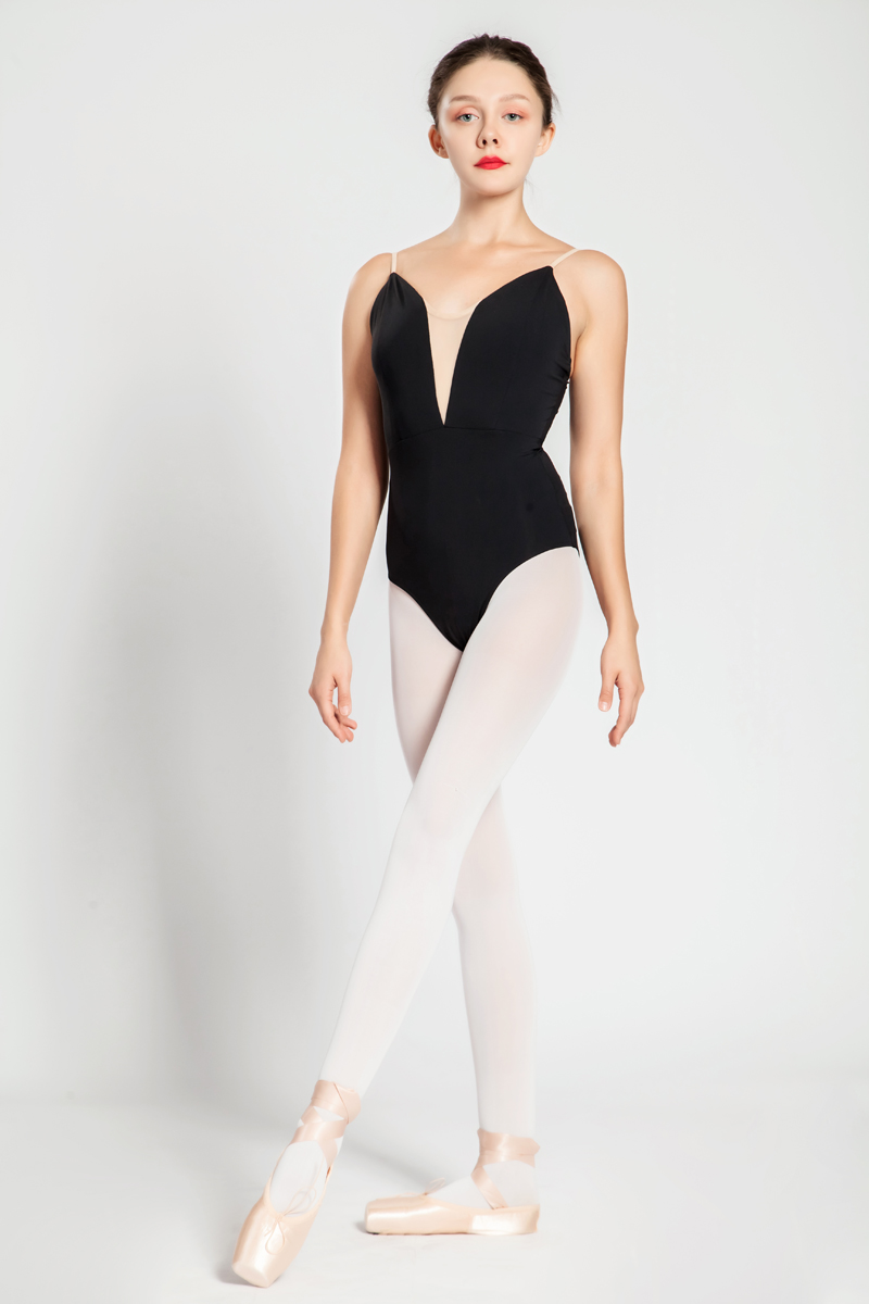 Image 2 - Ballet Leotards Adult New Style Black Sexy Comfortable Practice Dancing Clothes Women Gymnastics Leotard Cheap Ballet Dance Wear-in Ballet from Novelty & Special Use