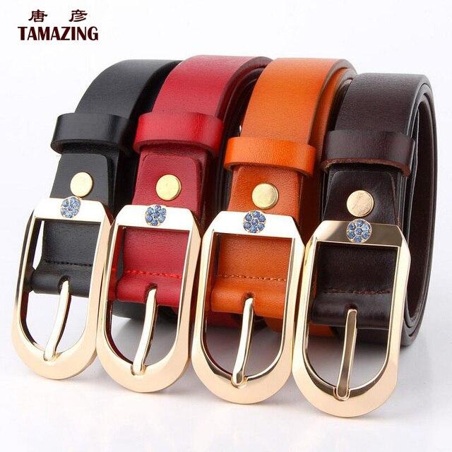NEW ARRIVE women's genuine leather belt desinger belts for women high quality belt