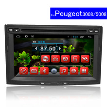 1024*600 7″ Android Car DVD Player For Peugeot 3008/5008 Partner  2013 Radio WIFI GPS Navigation Double Din Car Stereo Bluetooth