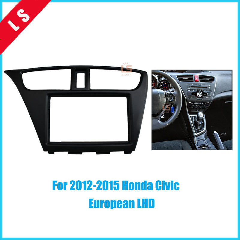 2din Car Refitting Radio Fascia For 2012 2015 Honda Civiceuropean Rhaliexpress: 2012 Honda Civic Radio Kit At Gmaili.net