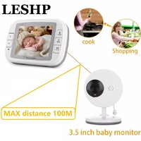 3.5 Inch Wireless Baby Monitor TFT LCD Video Night Vision 2 way Audio Infant Baby intercom Camera Digital Video Babysitter