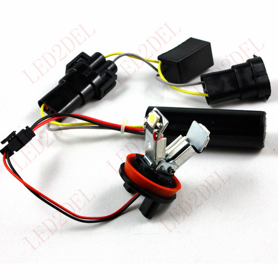 ФОТО H8 V LED Angel Eyes Marker Light bulb FOR BMW E63 E64 E71 E82 E87 E89 E90 E92 E91 E93 X6 (5sets)