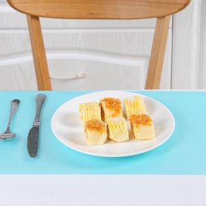 Image 3 - 4 יח\חבילה EVA ניקוי Pad עבור שולחן מקרר אנטיבקטריאלי לחות Antifouling עמיד למים מקרר מחצלת מטבח ניקוי כלי