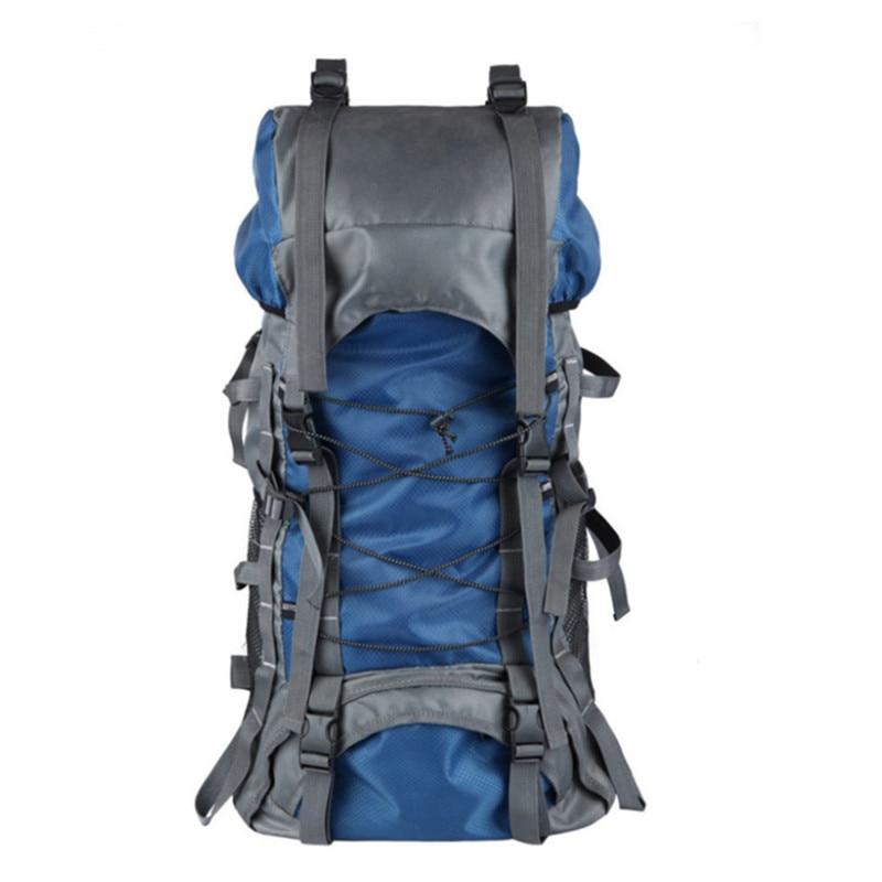 Kundui Лидер продаж мужские рюкзаки Водонепроницаемый нейлон Альпинизм сумка человек сращивания рюкзак сумки туриста 60L Mochila