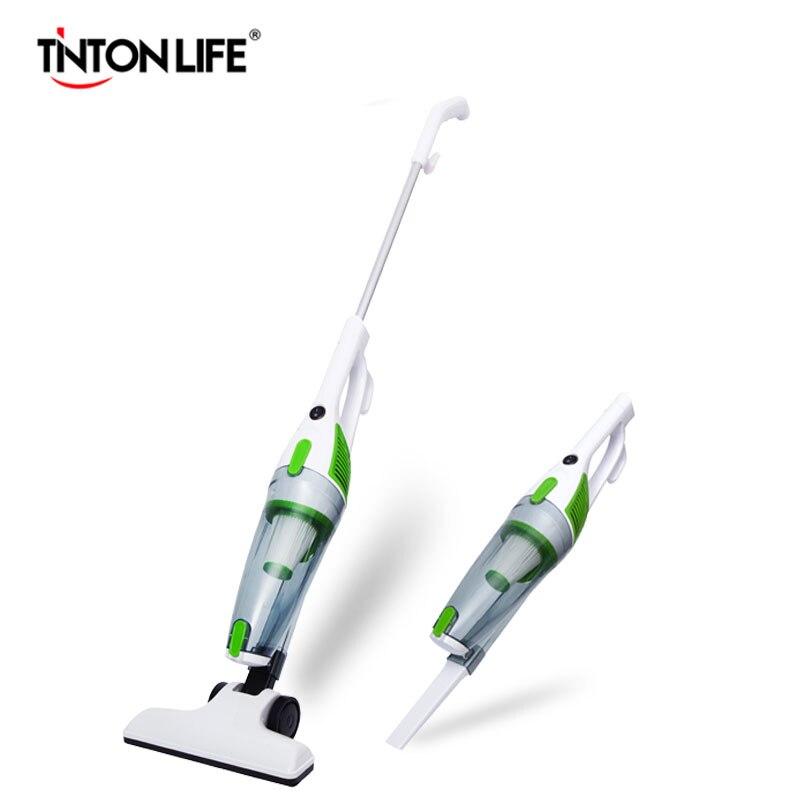 TINTON LIFE Ultra silencioso Mini Home Rod aspirador colector de polvo portátil Home aspirador aspiradora de mano