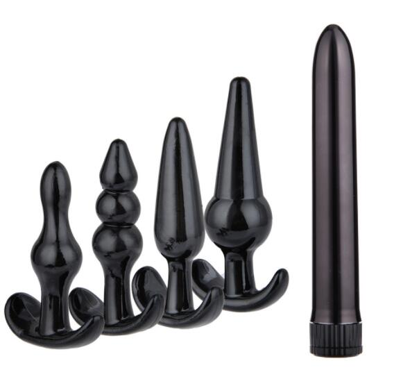 Sex Products 7pcs/set Butt Plug Anal Dildo Erotic Anal Toys Prostate Massager Adult Gay Silicone Anal Plug Beads Sex Toys For Woman Men Meticulous Dyeing Processes