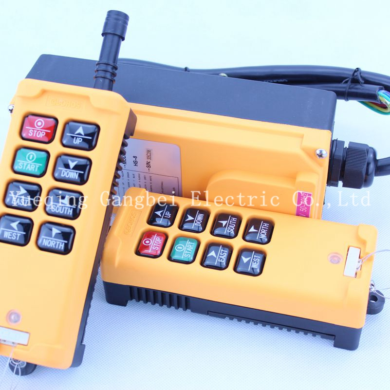 HS-8 (include 2 transmitter and 1 receiver)  crane remote control  Your order note need voltage:380VAC 220VAC 36VAC  24VDC литой диск replica bk 794 8 5x20 6x139 7 d106 2 et25 hs