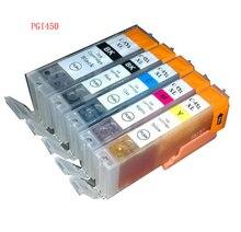 5 unids PGI 450 CLI 451 BK C M Y cartuchos de tinta compatibles cartucho para canon pixma mx924 ip7240 mg5440 mg5540 mg6440 ix6540 ix6840 impresora