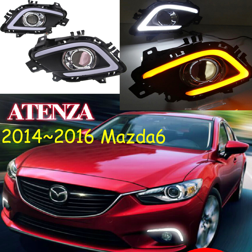 LED,2014~2016 Mazd6 Atenza daytime Light,Atenza fog light,Atenza headlight;Tribute,RX-7,RX-8,Protege,MX-3,Miata,CX4,Atenza lamp рено сценик rx 4 в мурманске