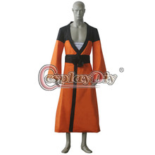Cosplaydiy Custom Made Anime Naruto Shippuden Ending 6 Naruto Uzumaki Cosplay Outfit Adult Men Halloween Cosplay Costume D0514