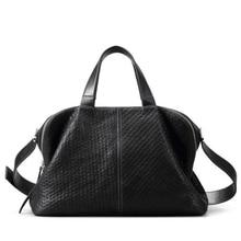 JCPAL 2017 NEW Women's tote Genuine leather Boston Female bag Sheepskin Casual single shoulder bag fashion handbag D016051
