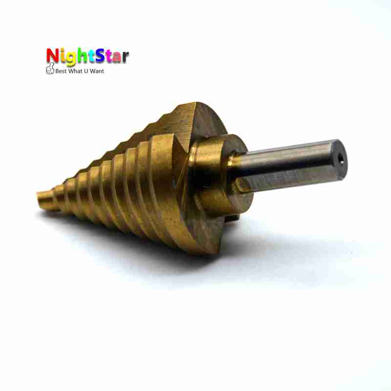 1/4 to 1-3/8 Hss Cobalt Large Step Drill Bit Power Tools Universal Shank Mul Tiple Hole For Metal Plastic Fiberglass Best