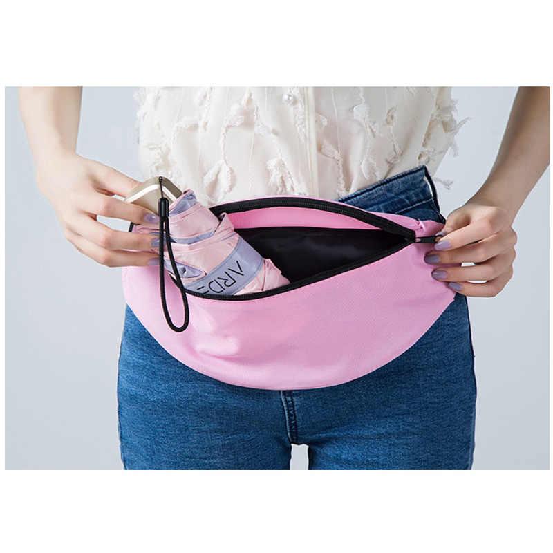 Fanny Pack femmes taille sac été hanche Packs voyage téléphone portable Bum sac Hengreda hommes banane Style ceinture fermeture éclair pochette sacs P26