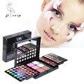 Professional 78 Cores de Maquiagem Sombra Colorida Destacando Corretivo Blush Sombra Make up Kit Palette Set Com Espelho