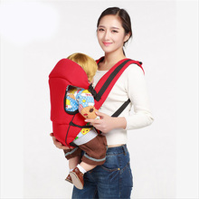 Cotton four seasons breathable fabric shoulder baby carrier multi-function strap mother with baby to go out a good helper